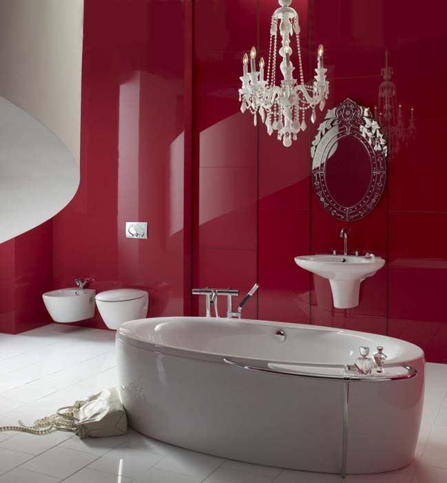 The prettiest pink bathroom design ideas - Pink bathtub decorating ideas ...