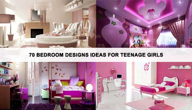 Room Design Ideas For Teenage Girl astounding bedroom ideas for teenage girls with beautiful wallpaper and hanging lamp decoration from tumblr 70 Bedroom Designs Ideas For Teenage Girls