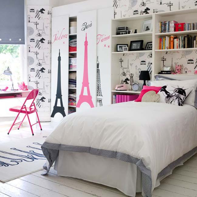 Attractive Bedroom Designs Ideas For Teenage Girls Idea