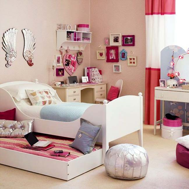 70 bedroom designs ideas for teenage girls for Bedroom ideas for teen girls