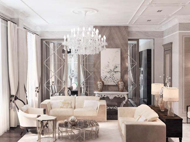 Luxury apartment in Italy by NG Studio