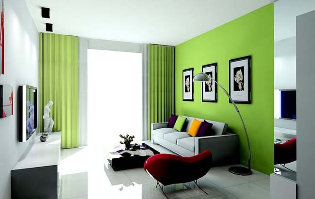 Luxury Green Living Room Ideas Concept