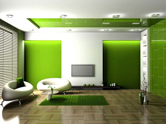 20 Stunning Grey And Green Living Room Ideas Part 45