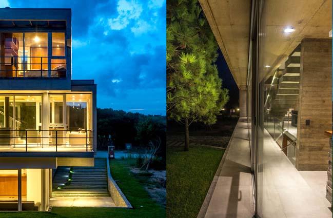 Modern house in Argentina by Estudio Galera Arquitectura