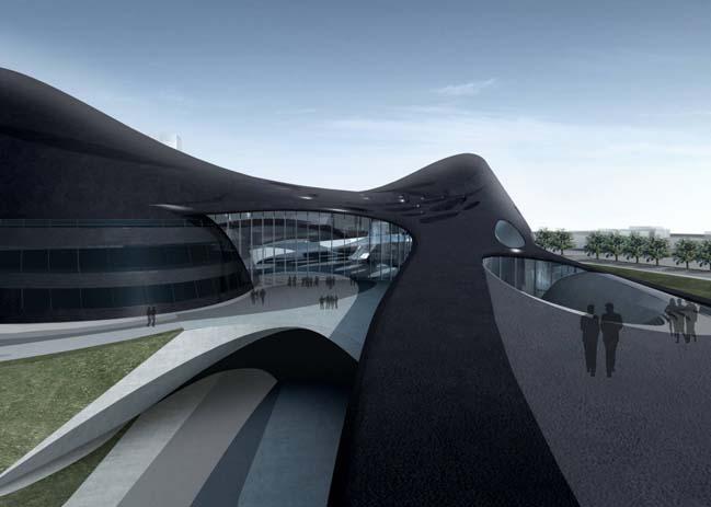 Futuristic architecture: Taichung Metropolitan Opera House