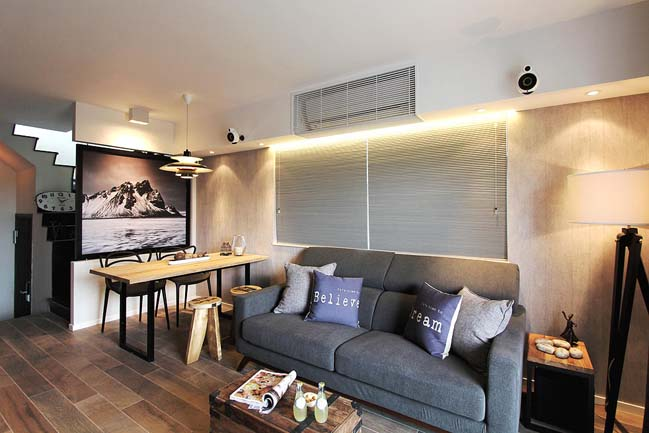 Modern apartment interior design by home revolt for Apartment design hk