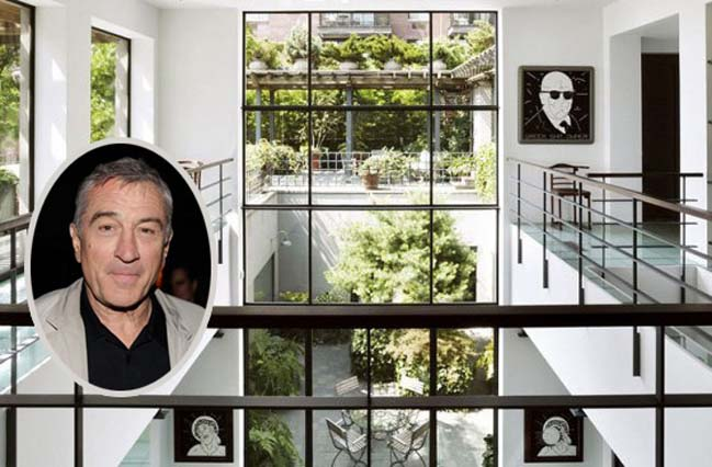 Luxury penthouse in New York of Robert DeNiro