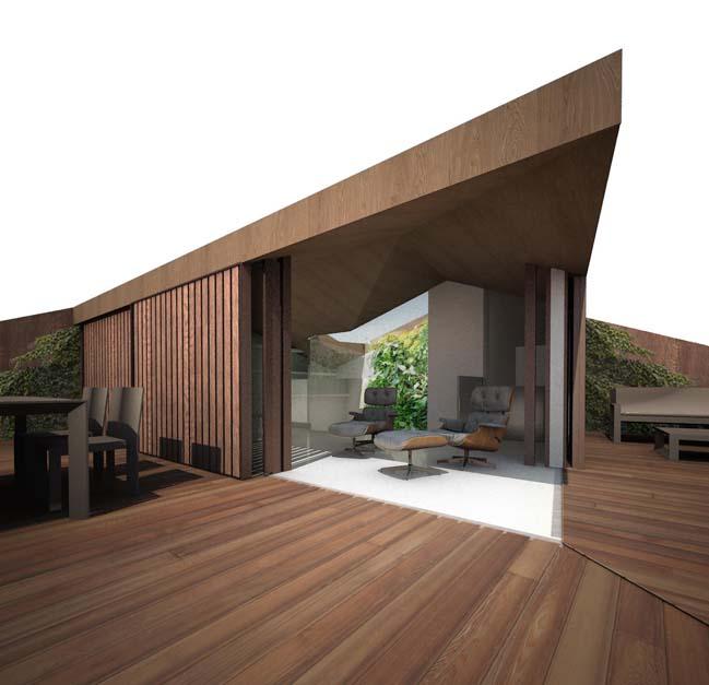 Luxurious modern townhouse in Spain