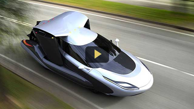 Flying car concept by Terrafugia