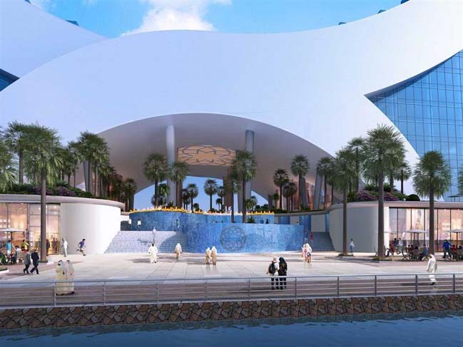 Amazing architecture of Katara Hotel in Doha, Qatar