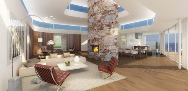 Roger Federer's luxury house in Swiss