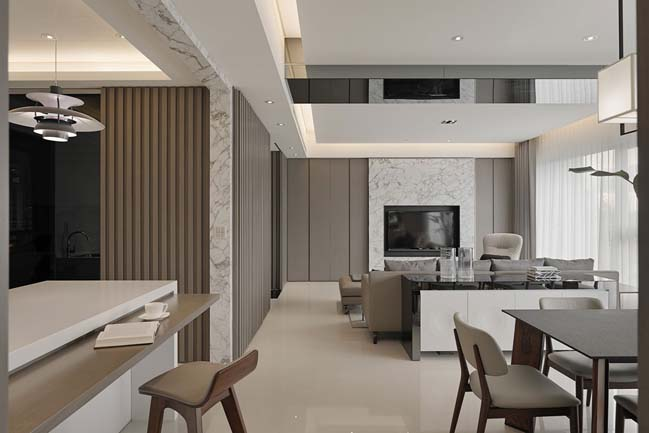 Contemporary apartment by Fantasia