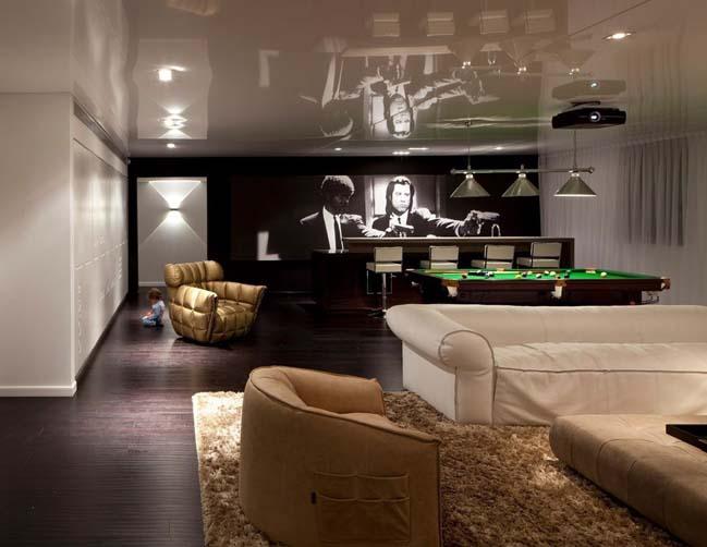 Luxury penthouse by Lev-Gargir Architects