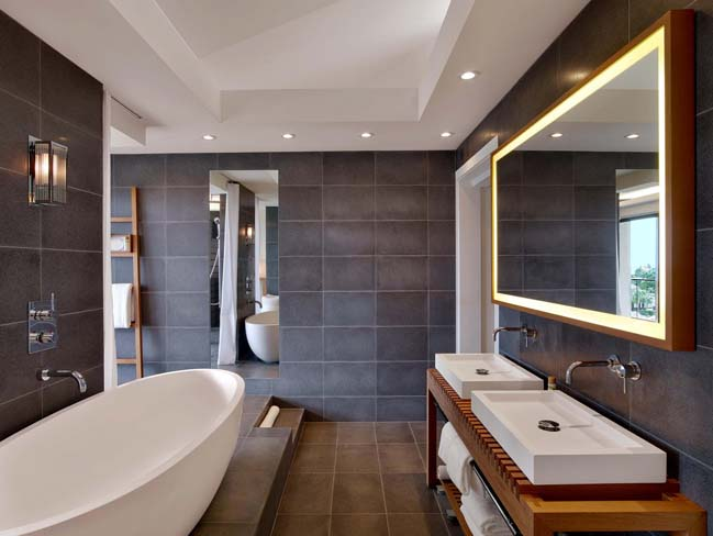 Luxury stone bathware by apaiser for Luxury contemporary bathrooms