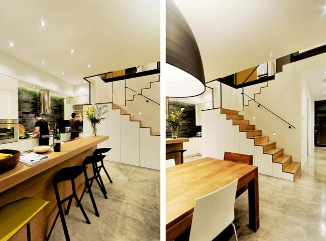 Modern townhouse design in Canada