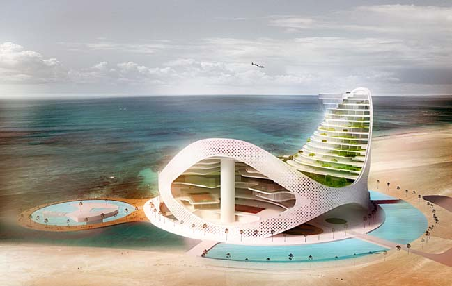 Avaza Aqua Park by JDS Architects