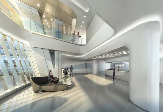 Sky SOHO by Zaha Hadid Architects