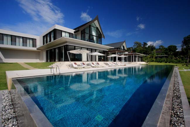 Luxury beachfront pool villa in Phuket, Thailand
