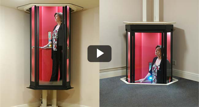 Star Trek-style home elevator by Terry Lifts