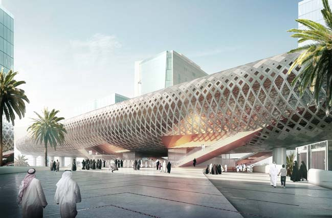 Architectural concept: Makkah Metro C-Line Stations