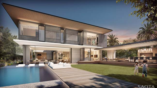 Dream house in Australia by SAOTA