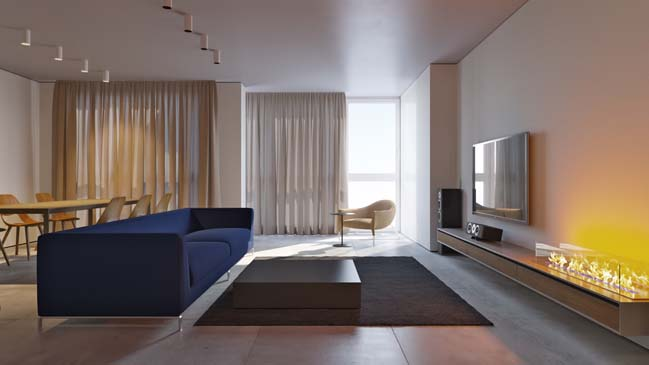 Park Avenue Apartment by Ivan Yurima Architects