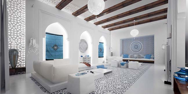 Good Moroccan Living Room