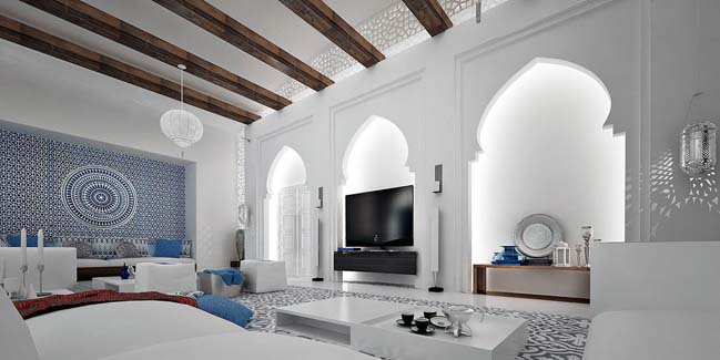 Moroccan Living Room Part 55