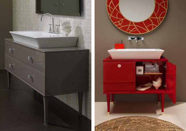 Vintage bathroom ideas by Regia