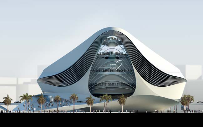 The Museum of Middle Eastern Modern Art  by UNStudio