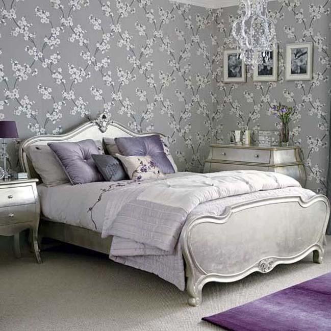 15 Luxury Silver Bedroom Designs