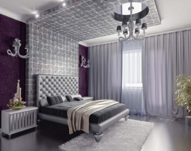 15 luxury silver bedroom designs