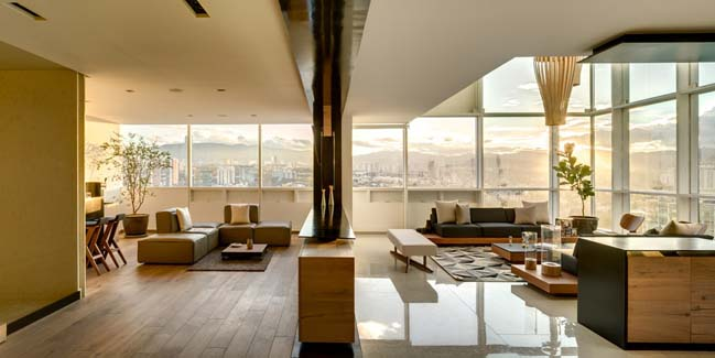 Luxury penthouse in Mexico