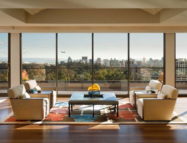 Penthouse renovation by Dawson Design Group