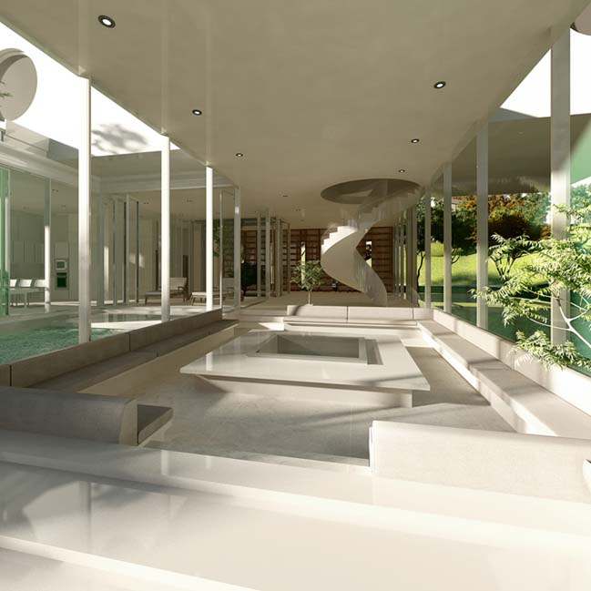 The Object: Luxury villa by Planning Korea