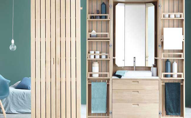 La Cabine: Solution for a compact bathroom