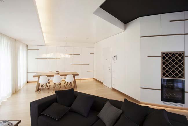 Luxury apartment in Italy by Studiòvo