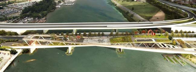 OMA + OLIN Wins 11th Street Bridge Park Competition