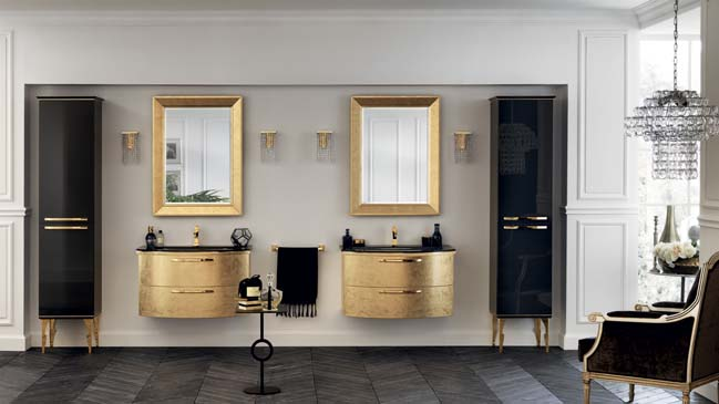 Magnifica Luxury Italian Bathroom Designs From Scavolini