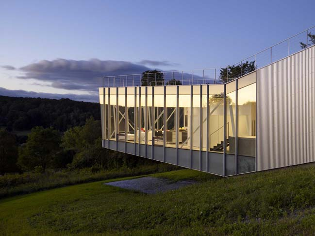 Tanglewood House by Schwartz/Silver Architects