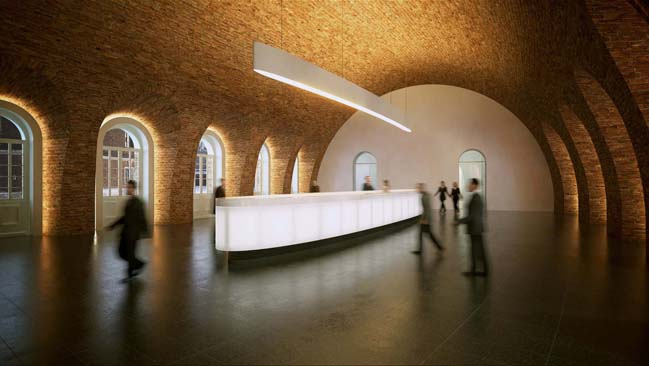 The New Holland Island by Foster + Partners