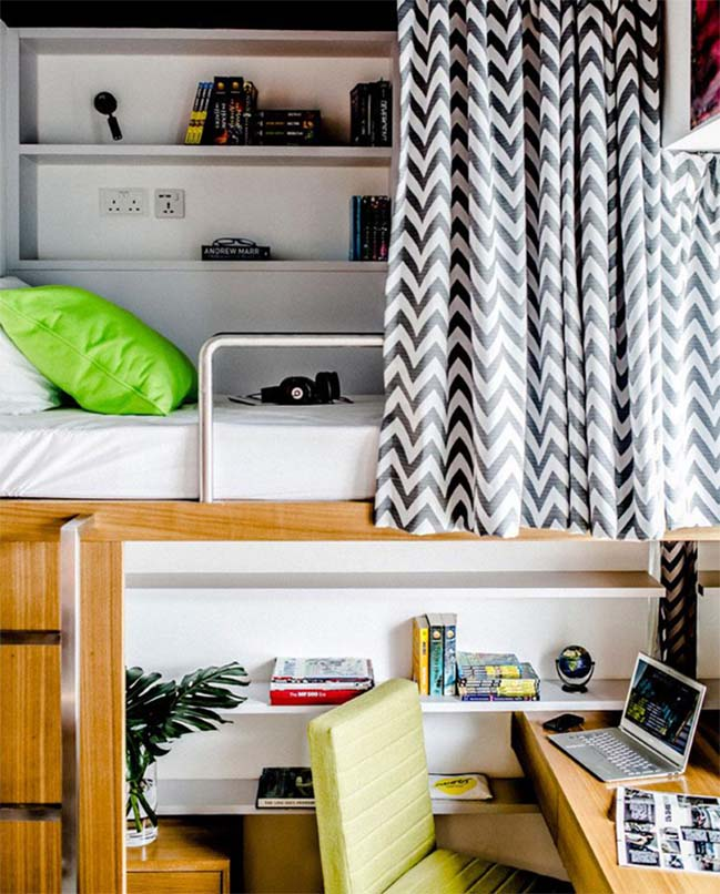 Stylish student housing by LYCS Architecture