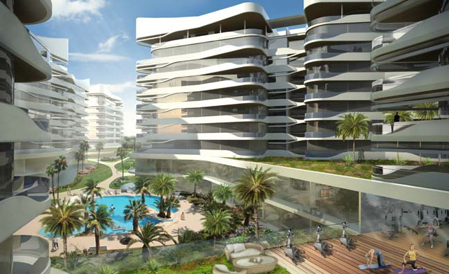 Hammamet: Luxury complex by DNA Barcelona Architects