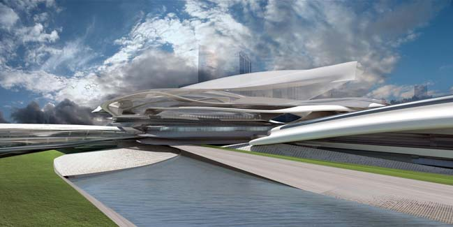 The Abu Dhabi Commercial and Cultural Expo Center by M A 2