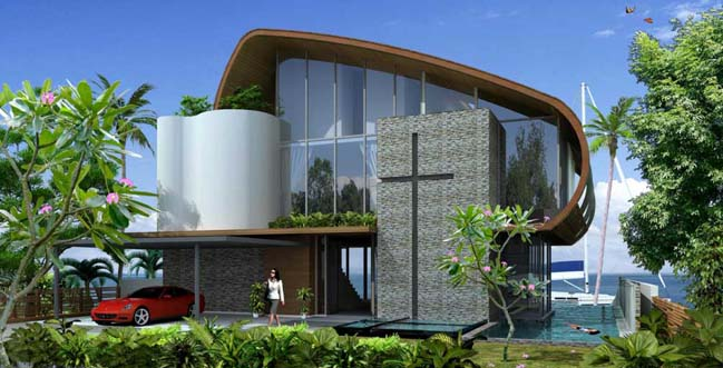 Eco-friendly home by Greg Shand Architects