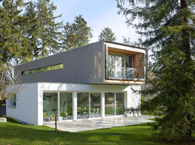 Minergie: Modern villa in Switzerland