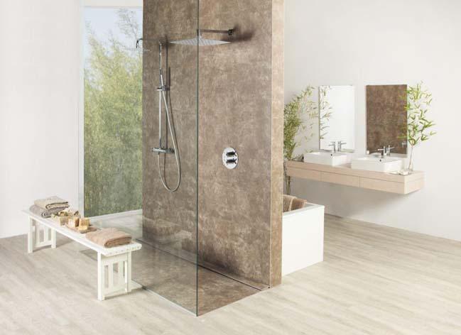 Natural pleasure in the bathroom