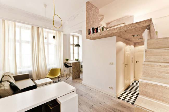 & Small apartment design by 3XA