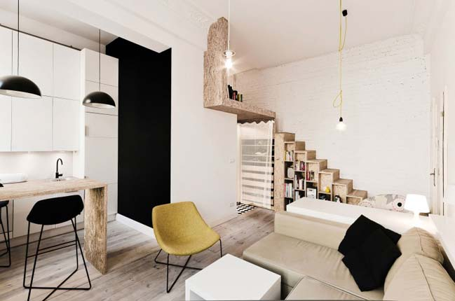 Small apartment design by 3XA
