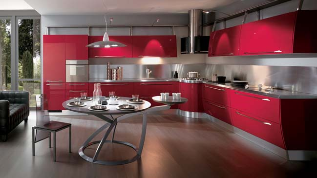 Flux Modern Kitchen Design From Scavolini
